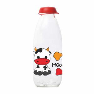 Staklena boca za mlijeko 1l