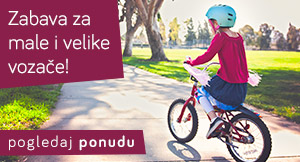 Zabava za male i velike vozače - Bicikla i dječja vozila