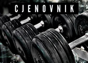 Fitness - Cjenovnik