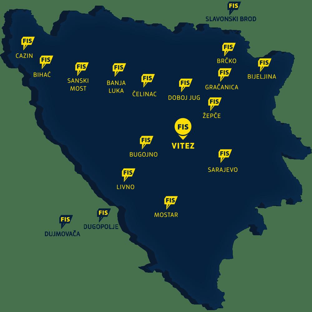 FIS - Prodajni centri
