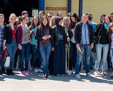 I zenički studenti posjetili ''Ambyentu''
