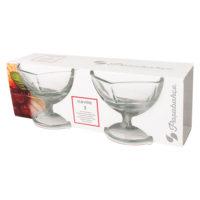 Zdjela za sladoled staklo set 2/1 - P175399