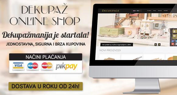Dekupaž online shop