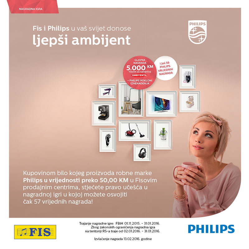 FIS i Philips nagradna igra 2015