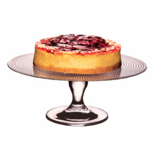 Stalak za tortu staklo 28cm Pattiserie