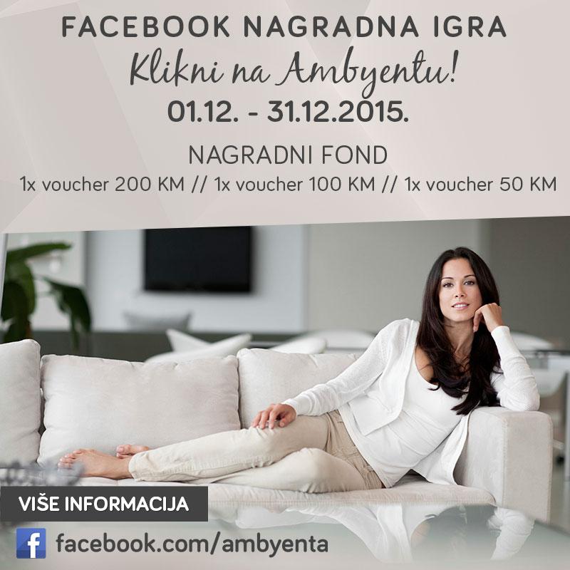 Ambyenta - Facebook nagradna igra