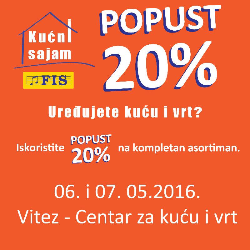 Kućni sajam 2016 - FIS Vitez