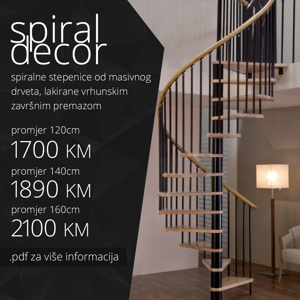 Stepenice - Spiral Decor