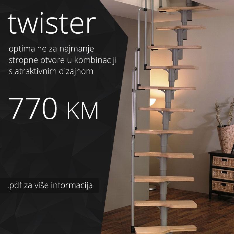 Stepenice - Twister