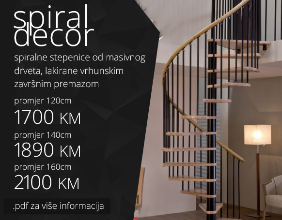 Stepenice - Spiral Decor