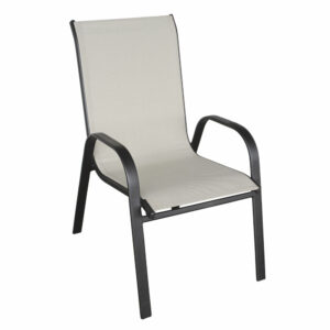 Vrtna stolica - svijetla i crna