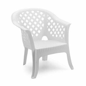 PVC Stolica Lario - bijela