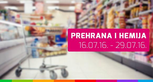 Prehrana i hemija - 16.07. - 29.07.2016.