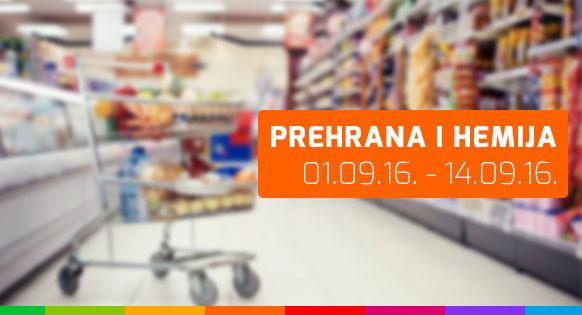 FIS - Prehrana i hemija 01.09. - 14.09.2016.