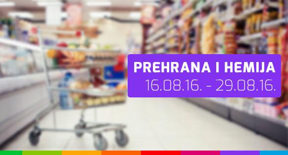 FIS - Prehrana i hemija 16.08. - 29.08.2016.