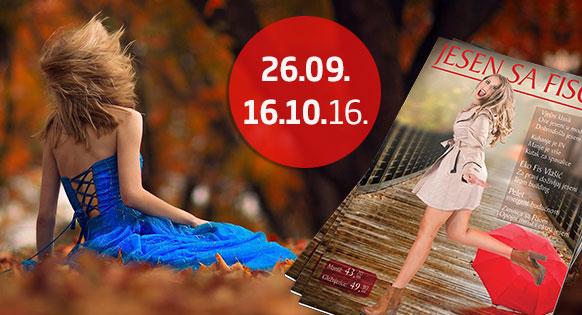Jesen s Fisom 2016 - 26.09. - 16.10.2016.