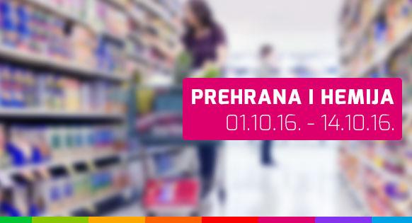 Prehrana i hemija - 01.10. - 14.10.2016.
