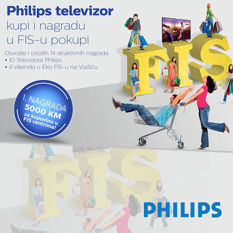 Philips televizor kupi i nagradu u FIS-u pokupi