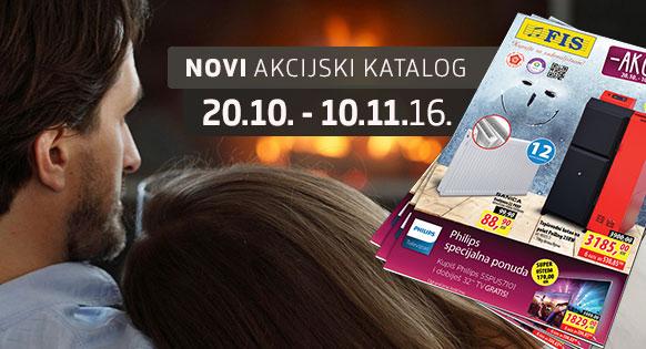FIS - Akcijski katalog 20.10. - 10.11.2016.