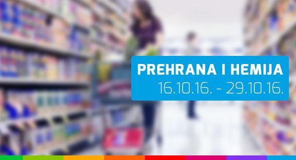 FIS - Prehrana i hemija - 16.10. - 29.10.2016.