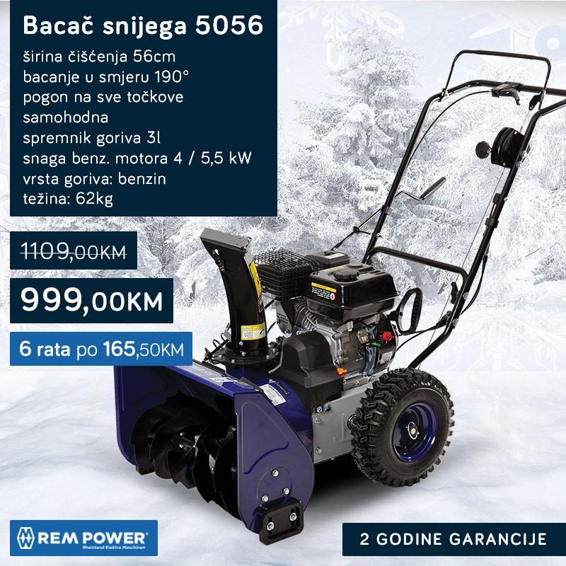 Bacač snijega 5056 REM POWER