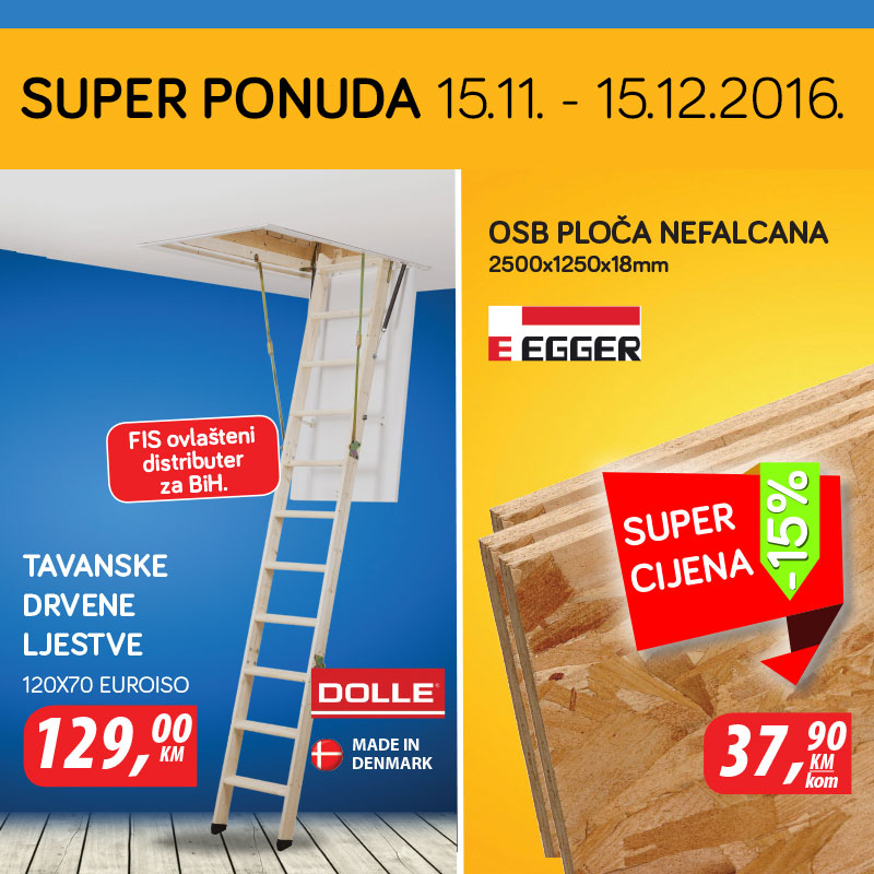 Super ponuda 15.11. - 15.12.2016.