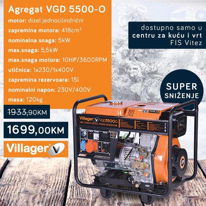 Agregat VGD 5500-O