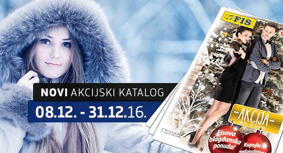 FIS - Akcijski katalog 08.12. - 31.12.2016.