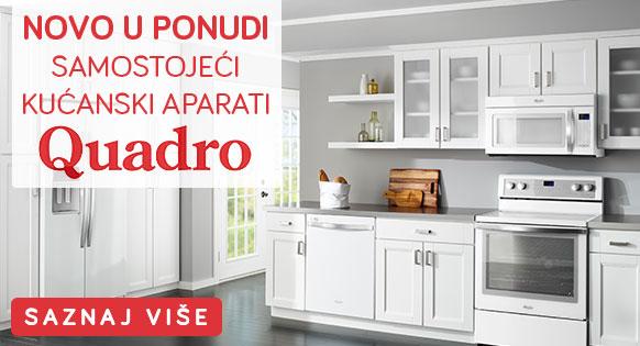 Novo u ponudi - Samostojeći kućanski aparati Quadro