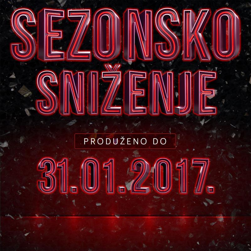 FIS - Sezonsko sniženje produženo do 31.01.2017.