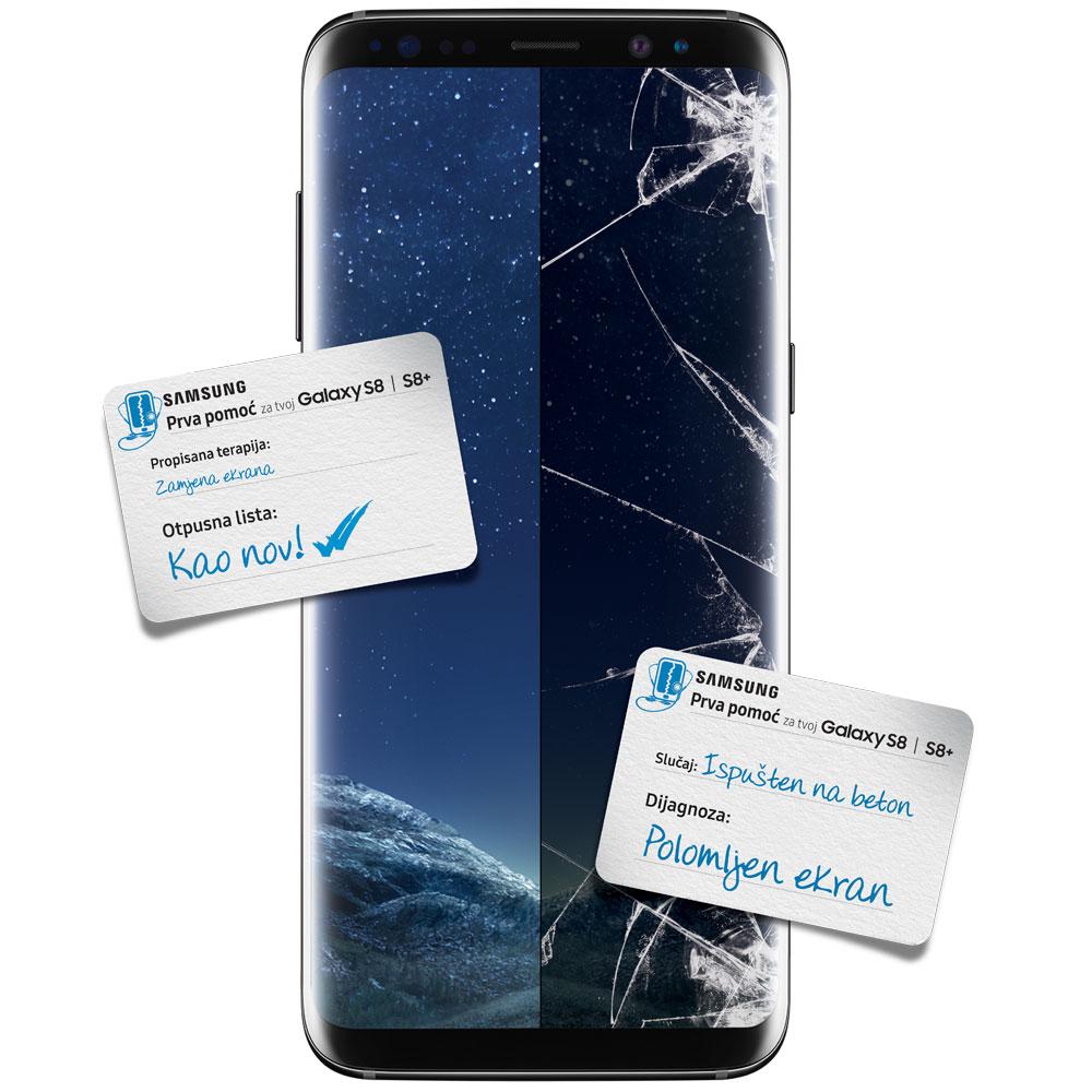 Prva pomoć za tvoj Galaxy S8   S8+